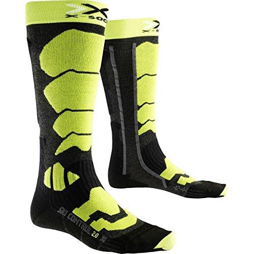 X-Socks - Chaussettes Ski Control 2.0 Homme 45/47 - Vert