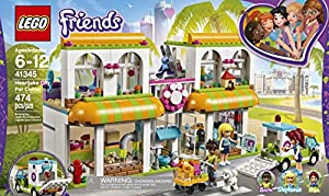 centros veterinarios mascotas: LEGO Friends - Centro De Mascotas De Heartlake City (41345)