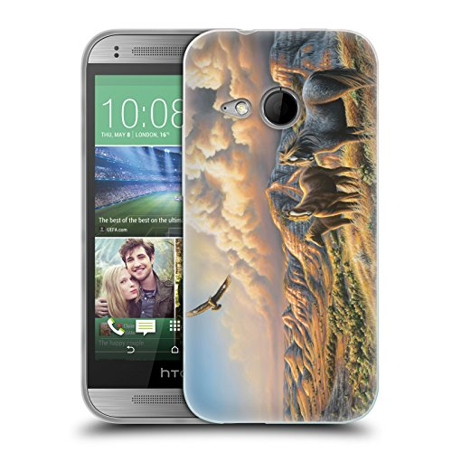 official-chuck-black-under-wild-skies-wildlife-and-animals-soft-gel-case-for-htc-one-mini-2