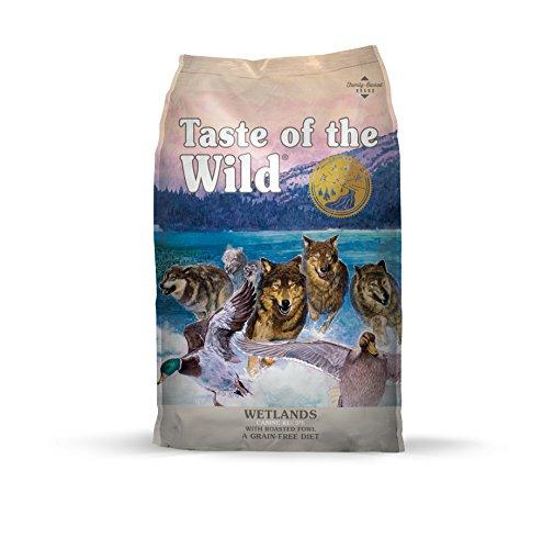 Taste of the wild Wetlands Canine Hundefutter, 1-er Pack (1 x 2.3 kg) (Vitamin B12, Folinsäure)