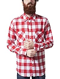 Urban Classics Checked Flanell Chemise