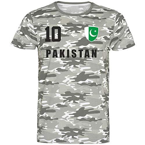 Pakistan WM 2018 T-Shirt Trikot Look Fußball inkl.Druck Name und Nr