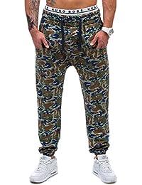 BOLF – Pantalons – Pantalons de sport – Military - OTANTIK 802 – Homme