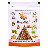 Dry Fruit Hub Jumbo Pecan Nuts, Premium Pecan Nut, 400gm