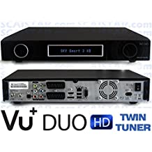 VU 1TB (1000GB) HDD and Duo 2 Times DVB-S2 Tuner Linux Satellite Receiver Satelieten Receiver