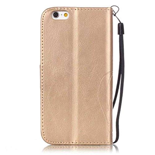 Coloré Motif PU Cuir portefeuille Housse Etui pour iPhone 7 (4,7 pouces) Case Coque Protection Flip Cover avec carte de crédit Slots (Y-G#) Y-A#
