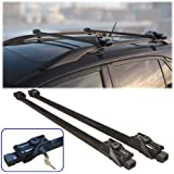 Fifth Gear Universal Anti Theft Lockable Roof Bars - Full set with 2 keys