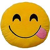Emoticonworld Burla - Cojín emoticono, 32 cm