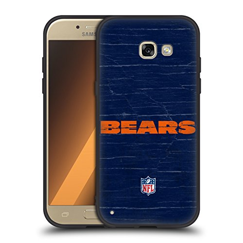 eifelt Chicago Bears Logo Skinny Fit Hybrid Glasiert Hülle für Samsung Galaxy A5 (2017) (Chicago Bears-platten)