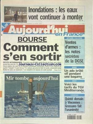AUJOURD'HUI EN FRANCE [No 17589] du ...