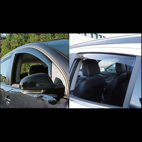 Preisvergleich Produktbild Kit seitliche Wetterschutz Windabweiser vorne und hinten FIAT 500x 2015> Farad Cod. 16023Kit
