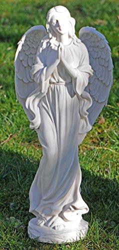großer Engel, Schutzengel, Grabengel in Marmor Optik-wunderschön 51cm Angel nice