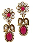 9blings Pink Austrian Stone Antique Gold...
