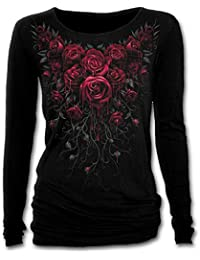 Spiral - Women - BLOOD ROSE - Baggy Top Black