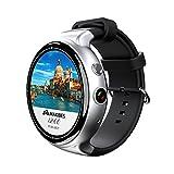 kaersishop I4 Luft Bluetooth Smartwatch mit Fotografiefunktion,2 GB Ram + 16 GB Rom +2,0 MP(200 Millionen pixel), 1.4 Zoll runden Organische Leuchtdiode
