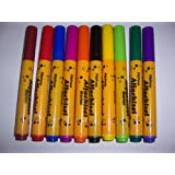PikPens Alfa Chisel 10 Water Color Markers