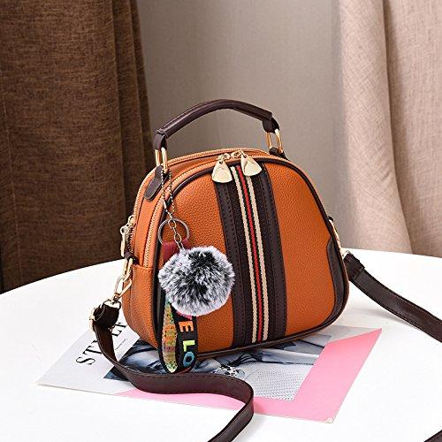 GUANGMING77 Spalla Borsa Messenger Bag Sacca _ Spalla Fresca Messenger,Nel Sacchetto Verde Yellow bag