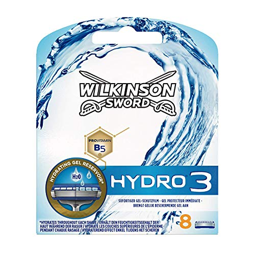 Wilkinson Sword Hydro 3 Rasierklingen für Herren Rasierer 8 St