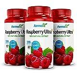 Raspberry Ketone Ultra 1200mg. 3 Envases 180 Cápsulas. Contiene sólo extracto puro de frambuesas con un contenido mínimo de 98% de Cetonas: mucho más que los otros productos en el mercado. Bajar de Peso y Adelgazar Rápido!