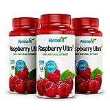 Raspberry Ketone Ultra+ 1200mg. 3 Packungen - 180 Kapseln. Enthält Himbeer- Ketonen-Extrakt mit einem Mindestgehalt von 98%. Viel mehr als andere Produkte auf dem Markt enthalten. Zur Gewichtsreduktion und Fatburner.