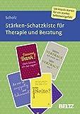 Stärken-Schatzkiste für Therapie und Beratung: 120 Karten mit 16-seitigem Booklet in stabiler Box, Kartenformat 5,9 x 9,2 cm