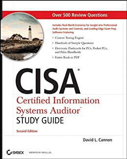 CISA Certified Information Systems Auditor Study Guide par [Cannon, David L.]