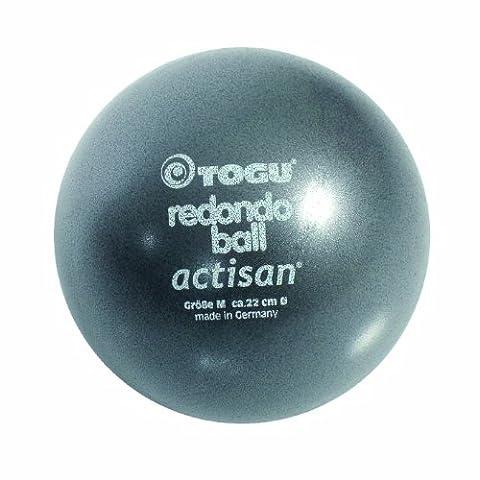 Togu Redondo Ball mit Actisan (Das Original), anthrazit, 22 cm (Pilates Ball)