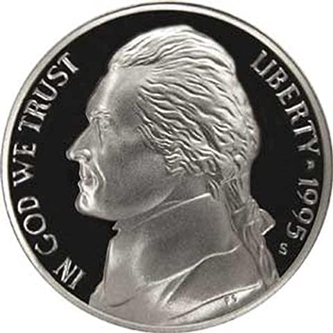 1995 S Gem Proof Jefferson Nickel US Coin by COINSHOP