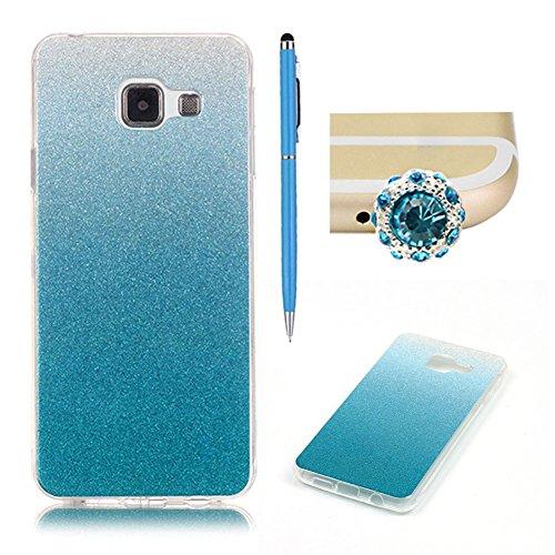 samsung-galaxy-a3-2016-caseskyxd-gradient-color-blue-luxury-glitter-slim-thin-premium-flexible-soft-