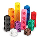 Enlarge toy image: Learning Resources Mathlink Cubes (Set of 100) -  preschool activity for young kids