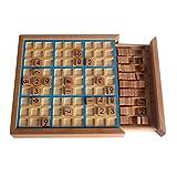 Larcele Holz Sudoku Brettspiele Zahlenrätsel Memory Spiele SD-02