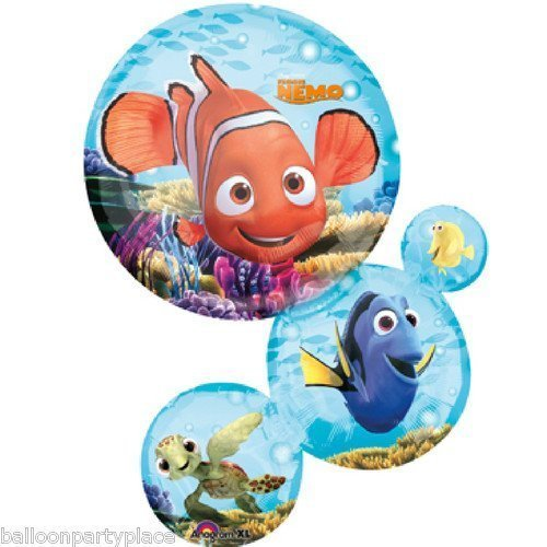 DISNEY FINDING NEMO BUBBLES BALLOON birthday party supplies decorations dory 3d by Lgp