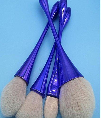 Krawatte-taille Mini (DZW 10 kleine Taille Taille Make-up Pinsel-Set, ein voller Satz von Kombination - künstliche Faser - Anfänger professionelle Make-up-Tools, 3 Farben , artificial fibres)