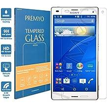 PREMYO cristal templado Xperia Z3 Compact. Protector cristal templado Z3 Compact con una dureza de 9H, bordes redondeados a 2,5D. Protector pantalla Sony Xperia Z3