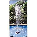 K737CBX, fuente flotante de flor para piscina soterrada y elevada