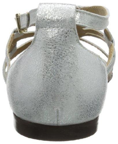 Belmondo 221710/B Damen Römersandalen Silber (Argento)