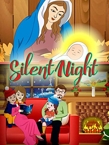 Christmas Songs for Kids- Silent Night Xmas Lights [OV] -