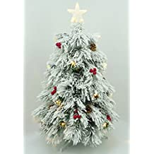 cd51f5f22ff46 Christmas Concepts® 3 pies (90 cm) Pre-iluminado de nieve de fibra