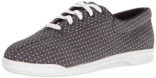 Easy Spirit Women's Ap1 Walking Shoe, Black/Multi Fabric, 5 M US (Easy Spirit Ap2)