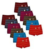 Kids Basket Dora Line Printed 100% Cotton Kids Baby Boys & Girls Briefs Drawer Inner Underwear Combo Offer Pack of 6 and 12 Pc