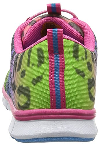 Dockers by Gerli 38sb603-700 Unisex-Kinder Low-Top Pink (fuchsia/blau 786)
