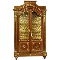 Comparador de precios Casa-Padrino Empire Showcase Mahogany - Showcase - Baroque Living Room - precios baratos