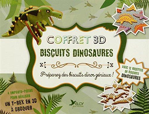 Coffret 3D biscuits dinosaures