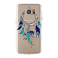 Samsung Galaxy S7 Case, Blossom01 Ultra Thin Soft Gel TPU Silicone Case Cover with Cute Dreamcatcher for Samsung Galaxy S7
