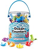 Learning Resources Under the Sea Ocean Counters - Set of 72