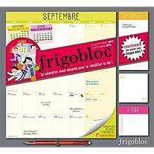 Frigobloc 2018 - Calendrier d'organisation familiale par mois