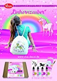 Viva Decor Creative Schablonen-Set Magic Einhorn, synthetisches Material, mehrfarbig, 26 x 21 x 3 cm