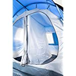 CampFeuer - Tunnel Tent, 4 Person, 410x250x190 cm, blue/grey 16