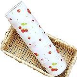 TININNA Niedlich Tupfen Non-Adhesive Schrankpapier Schubladenmatte Antirutschmatte Schubladeneinlage 11.8X 111,8 Zoll Erdbeere