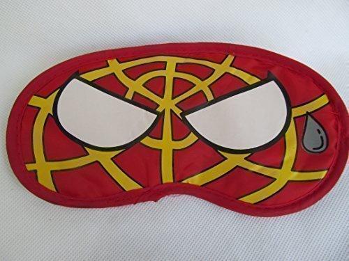 Fat-catz-copy-catz Augen Schlafmaske Kinder Erwachsene Reisemaske Abdeckung Schatten Hochwertig Neuheit - Rot Spiderman